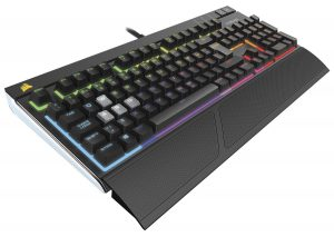corsair mx red rgb strafe